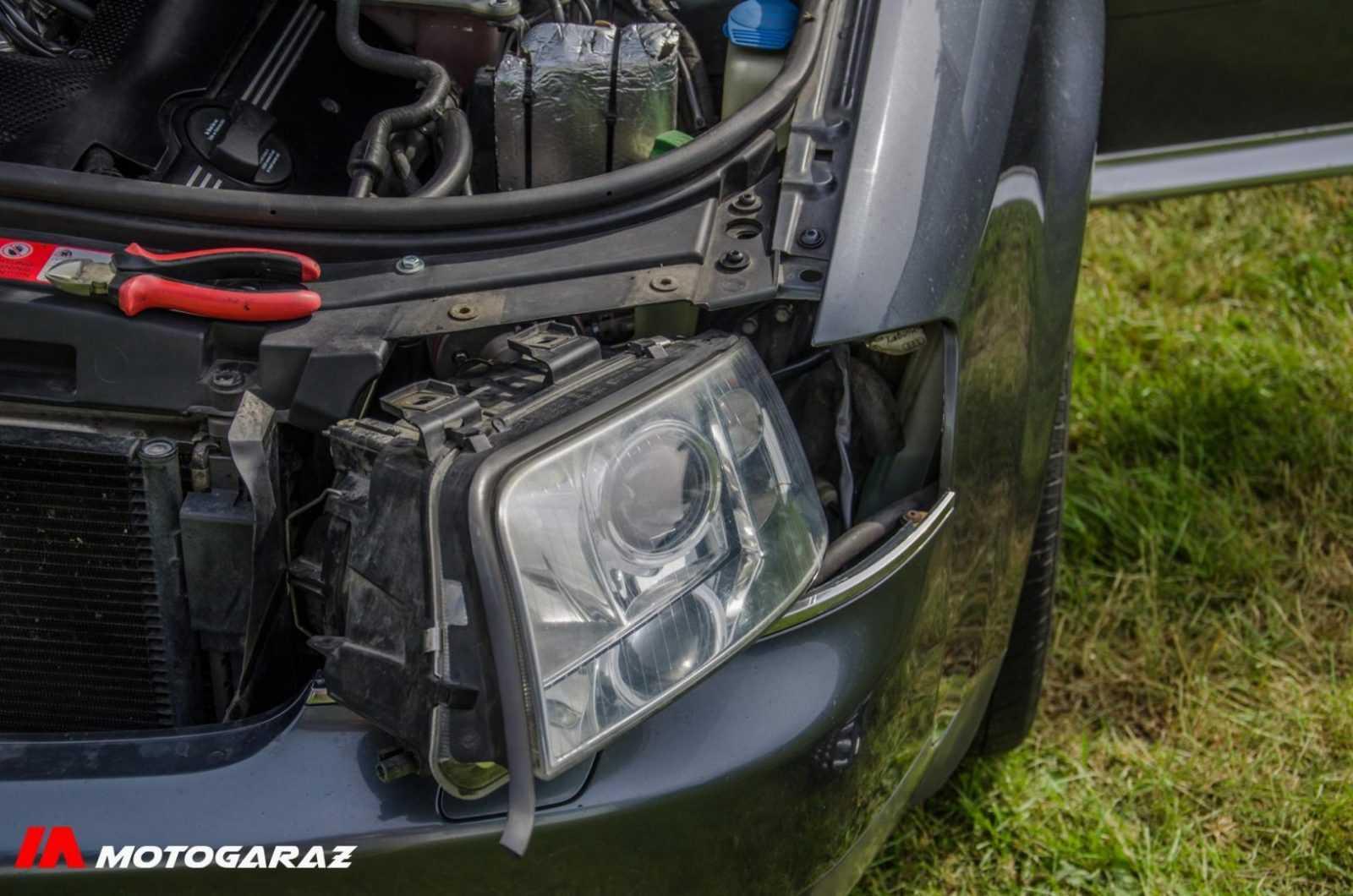 Wymiana lampy Audi a6c5 - fot. nr 11