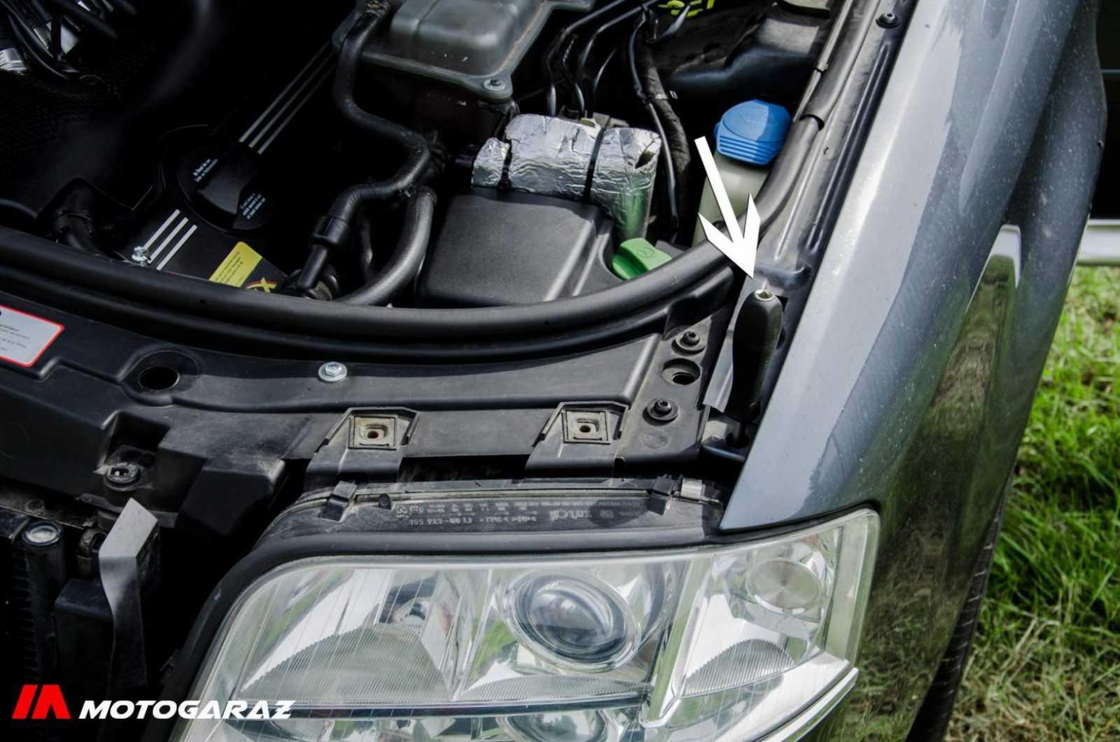 Wymiana lampy Audi a6c5 - fot. nr 5