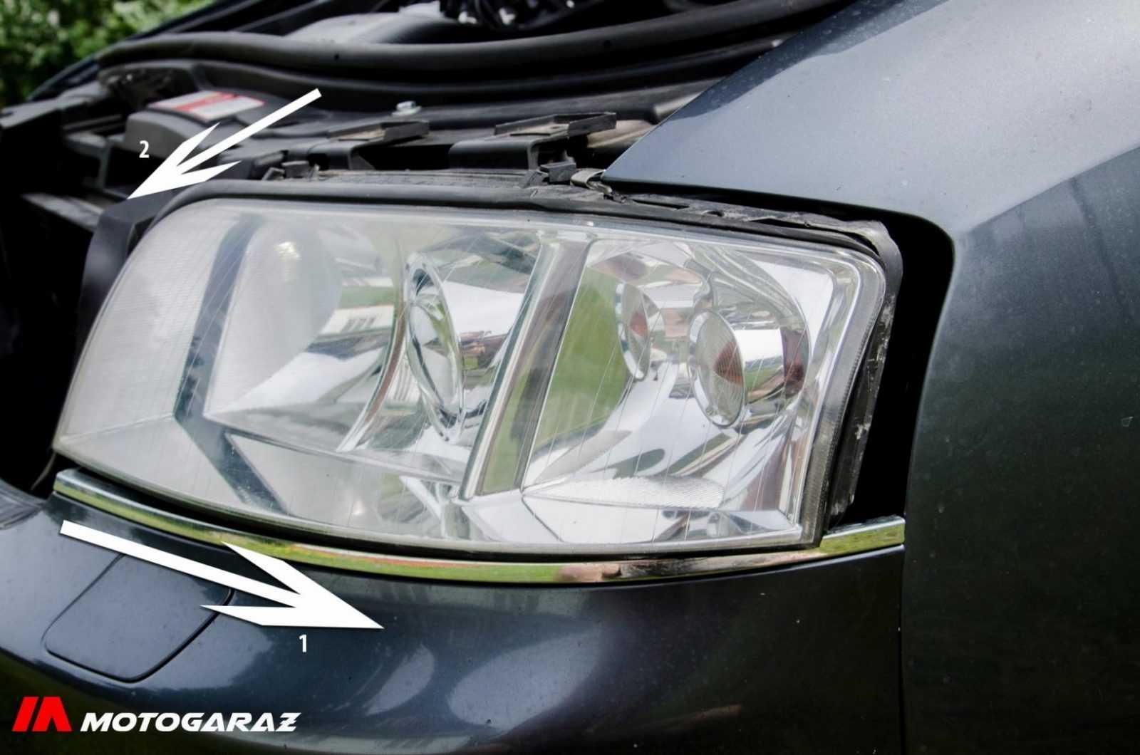 Wymiana lampy Audi a6c5 - fot. nr 8