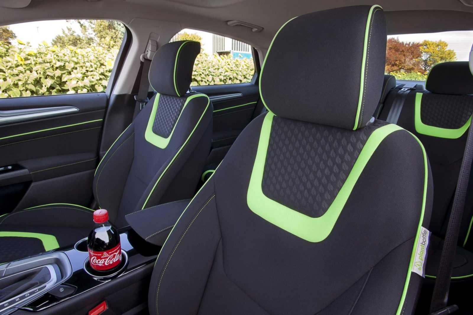 Ford Fusion Energi z ekologiczną tapicerką