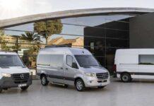 3 generacja Mercedesa Sprintera